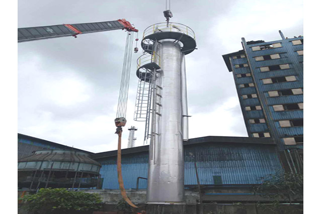 installasting distillastion column1